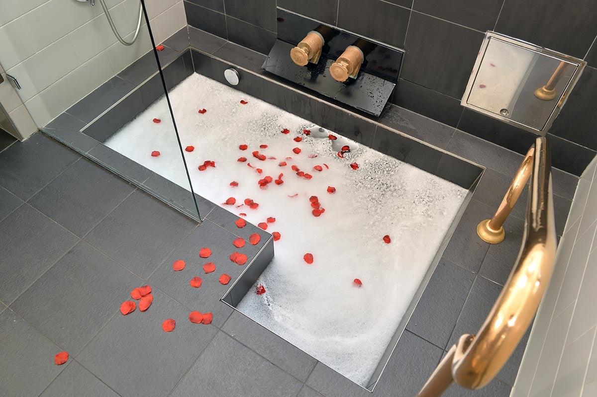Valentinstag-Romantik –<br>gemeinsam entspannen