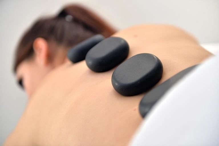 Steinmassage<br>55 Minuten